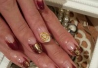 new year nail\(^^)/